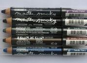 Тени-карандаши Master Smoky, Maybelline: макияж за минуту
