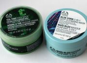 Очищающие маски The Body Shop Tea Tree Face Mask и Blue Corn 3-in-1Deep Cleansing Mask