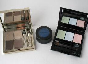 Тесты теней для век: Clarins, M.A.C., Shiseido