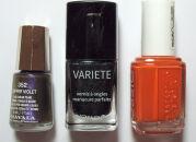 Мои лаки для ногтей: Mavala, Л'Этуаль, Essie