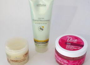 Тесты скрабов для рук: Oriflame, Ez Flow,Bath & Body Works