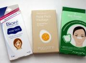 Тесты очищающих полосок для носа: Biore, TonyMoly, Л'Этуаль