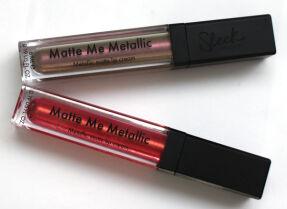 Помада Sleek Makeup Matte Me Metallic – два любимых оттенка