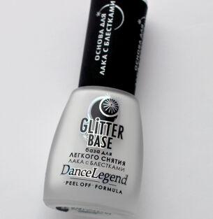 Основа под лаки-глиттеры Dance Legend Glitter Base: укрощение строптивой