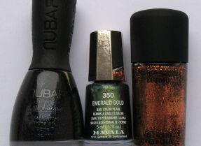 Мои лаки для ногтей: Nubar, Mavala, M.A.C.