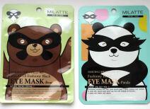Маски для глаз Milatte Fashiony Black Eye Mask – Bear и Panda