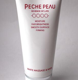 Массажная маска Peche Peau White Massage & Mask — салонное средство для домашнего ухода