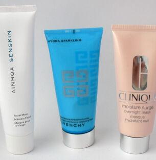 Тесты увлажняющих масок: Ainhoa, Givenchy, Clinique