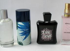 Мои парфюмы: Kiehl's, Carolina Herrera, Mango, L'Occitane