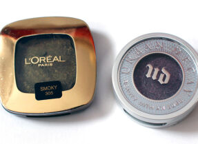 Два моно-макияжа с одиночными тенями L'Oreal и Urban Decay