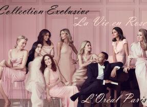 Помады L'Oreal Collection Privee La Vie en Rose — (не)много нежности