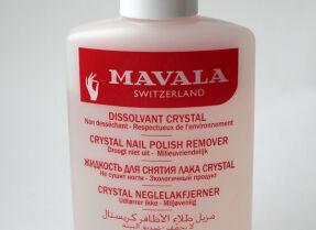 Жидкость для снятия лака Mavala Crystal Nail Polish Remover