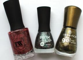 Мои лаки для ногтей: Masura, Pink Up, Essence