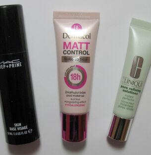 Тесты баз под макияж: M.A.C., Dermacol, Clinique