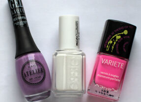 Мои лаки для ногтей: Vivienne Sabo, Essie, Л'Этуаль