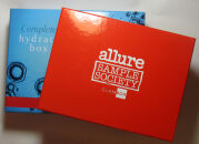 Ноябрьский Allure Sample Society by GlamBox и Complete Hydration Box Clarins