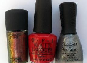 Мои лаки для ногтей: MAC, O.P.I., Nubar