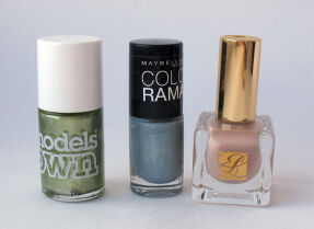 Мои лаки для ногтей: Model's Own, Maybelline, Estee Lauder