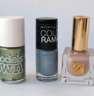 Мои лаки для ногтей: Model's Own, Maybelline, Estee Lauder