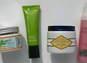 Тесты тонизирующих масок: Lemongrass House, L'Occitane, Faberlic