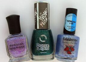Мои лаки для ногтей: Deborah Lippmann, Dance Legend, EL Corazon