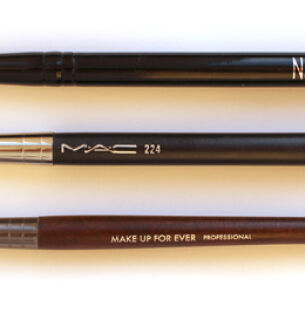 Тесты кистей для макияжа: Nu Color, MAC, Make Up For Ever