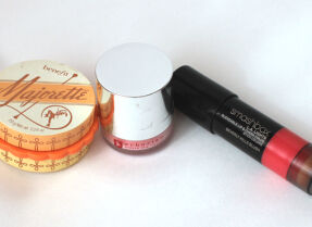 Тесты румян: Benefit, Erborian, Smashbox