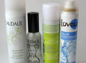 Спреи для лица: Caudalie, L'Occitane, Lovea