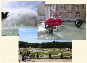 Поездка в Париж: Трокадеро, Тюильри, Версаль
