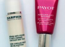 Мой уход за кожей вокруг глаз: сыворотка Darphin и крем Payot