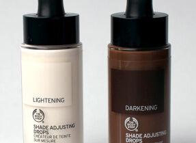 Корректоры оттенка тонального The Body Shop Shade Adjusting Drops — вам потемнее или посветлее?