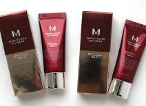 BB-крем Missha M Perfect Cover – отзыв и свотчи