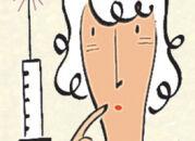 Инъекции гиалуроновой кислоты: коррекция носогубных складок