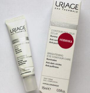 Мой актуальный уход: крем для кожи вокруг глаз Uriage Depiderm