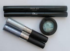 Обзор моих теней: Dior, Artdeco, Yves Rocher