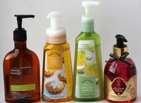 Тесты жидкого мыла: Bath & Body Works, Л'Этуаль