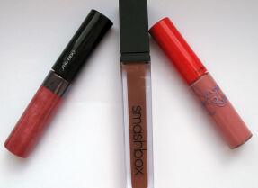 Тесты блесков для губ: Shiseido, Smashbox, M.A.C.