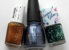 Мои лаки для ногтей: Essie, China Glaze, TonyMoly