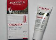 Крем для восстановления ногтей Mavala Nailactan — чем я спасаю ногти