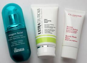 Тесты тонизирующих масок: Dr.Brandt, Ultraceuticals, Clarins