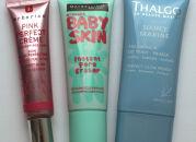 Тесты основ под макияж: Erborian, Maybelline, Thalgo