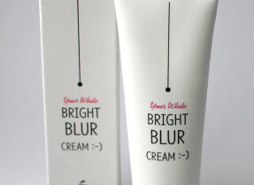 The Skin House Bright Blur Cream – крем, который обещал фотошопить