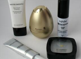 Тесты баз под макияж: Givenchy, TonyMoly, Nyx, Smashbox, Л'Этуаль