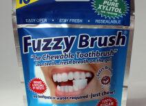 Жевательная зубная щетка Fuzzy Brush