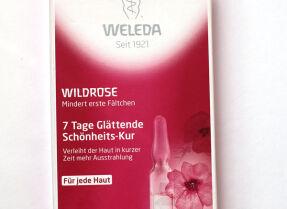 Разглаживающий концентрат Weleda Wildrose 7 Tage Glättende Schönheits-Kur – недельный экспресс-уход