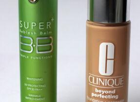 Clinique Beyond Perfecting™ Foundation + Concealer и Skin79 Super Plus Beblesh Balm Green – тональные средства с высокой кроющей способностью