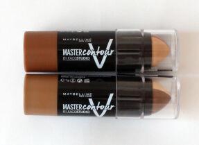 Maybelline Master Contour — кремовый карандаш для контурирования, свотчи и макияж