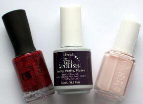 Мои лаки для ногтей: Masura, ibd, Essie
