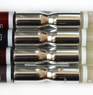 Новые оттенки помады Seventeen All Day Lip Color: серый, красный, синий и коричневый
