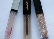 Тесты блесков для губ: Givenchy, Guerlain, Smashbox